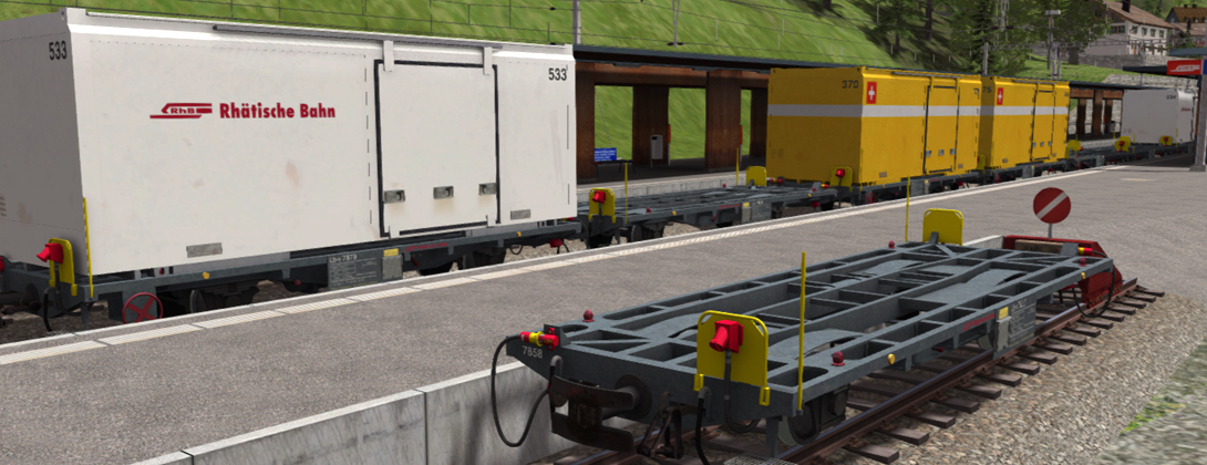 Lb-v Container Wagons
